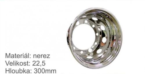 """kryt matic 22,5"""" -NEREZ -zadní-pár-hloubka 300mm-"""