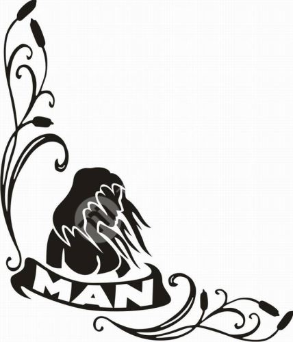 samolepka MAN 321