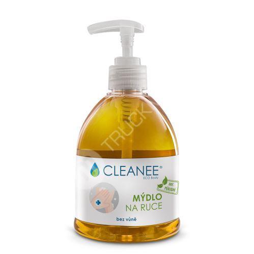 CLEANEE ECO Body 100% přírodní mýdlo NA RUCE bez vůně 500ml