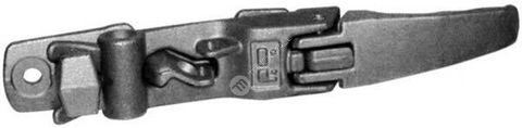 Závěr zadních vrat 16mm lomený zn