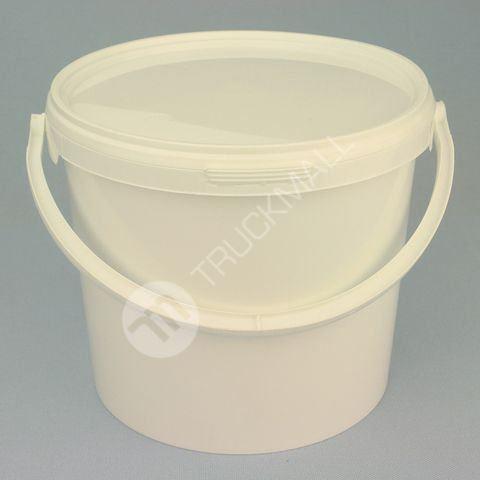Plastové vědro 5 l, bílé