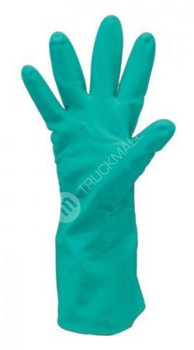 Pracovní rukavice GREBE zelené 33 cm
