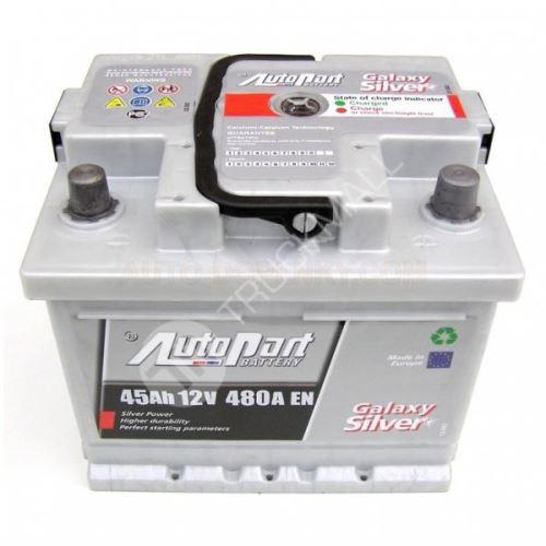 Autobaterie Galaxy Silver 45Ah 480A EN