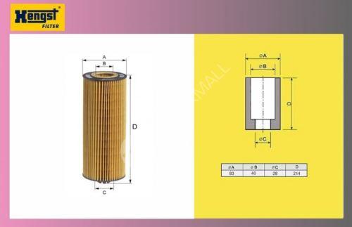 filtr olejový MAN F2000