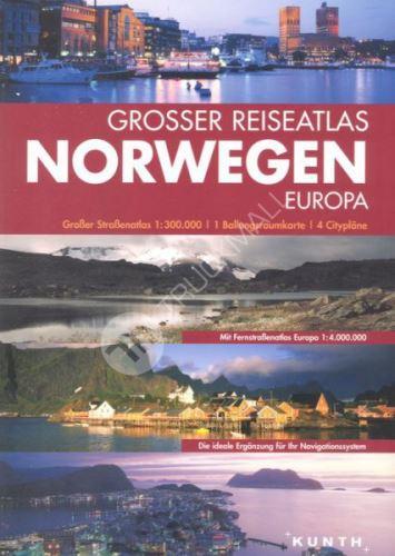 Sešitový atlas Norsko 1 : 300 000