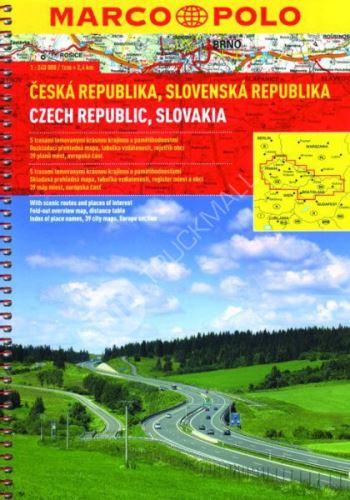 Sešitový atlas - ČR a SR 1 : 200 000