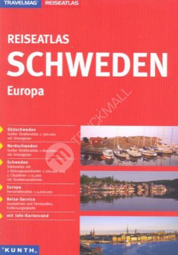 Sešitový atlas Švédsko 1 : 300 000