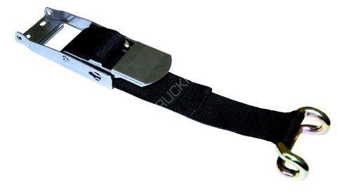 Napínací přezka na plachty s mrtvým bodem a drátěným pozinkovaným hákem
