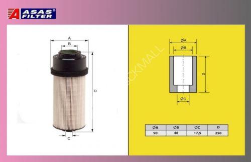 filtr naftový DAF 95XF 04-Euro 3-ASAS