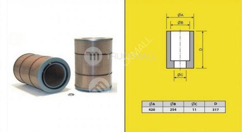 filtr vzduchový MERCEDES ACTROS-