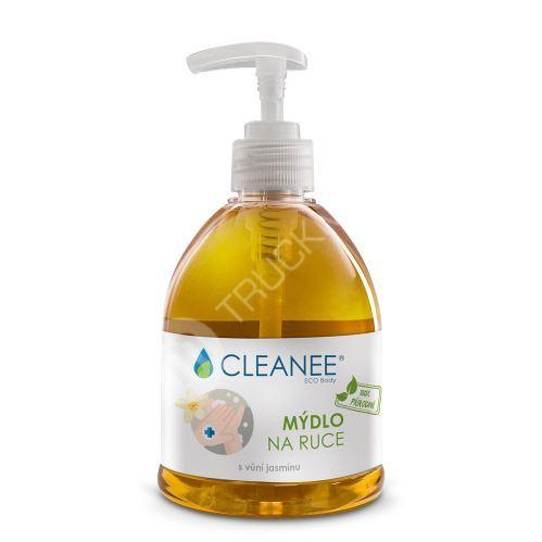 CLEANEE ECO Body 100% přírodní mýdlo na ruce s vůní jasmínu 500ml
