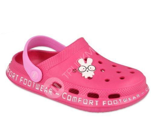 Dětské kroksy Befado comfort růžové