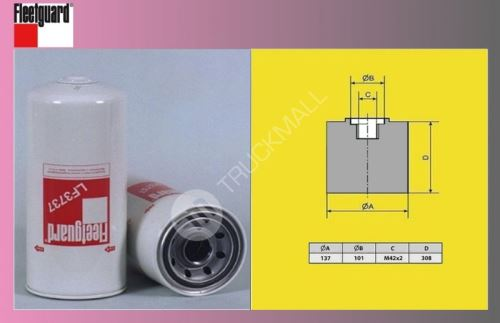 filtr olejový DAF 95XF,85CF/EURO 2,3/