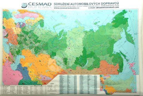 Nást.mapa Rusko s PSČ
