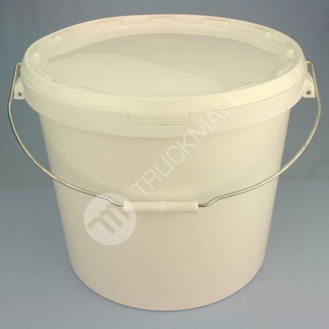 Plastové vědro 27 l, bílé