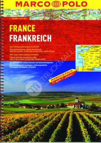 Sešitový atlas - Francie