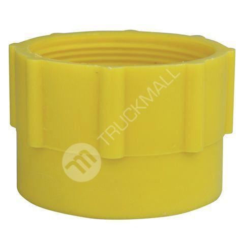 Plastový adaptér DIN, žlutý