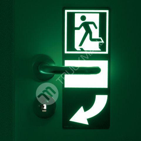 Tabulka - Značka pod dveřní kliku levá