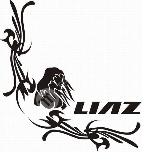 samolepka LIAZ 625
