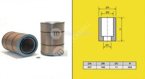 filtr vzduchový VOLVO F12-HENGST