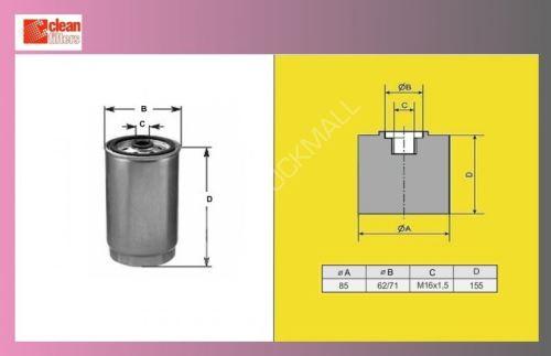 filtr naftový IVECO DAILY 59-12,63C13