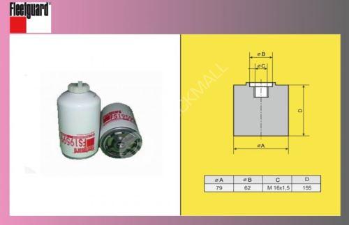 filtr naftový MAN F2000-odluč.-FLEET