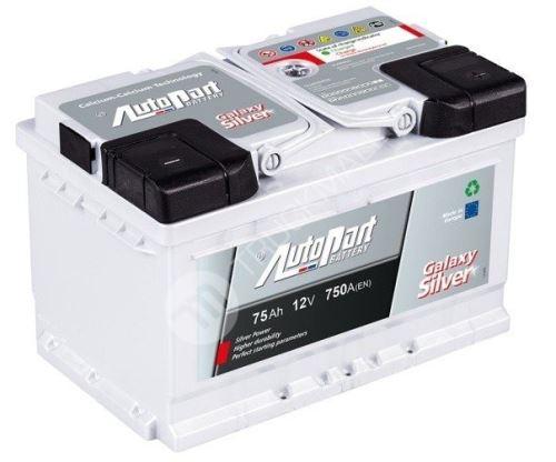 Autobaterie Galaxy Silver 75Ah 750A EN