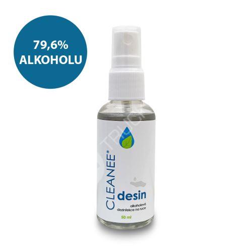 CLEANEE desin - dezinfekce na ruce 50 ml