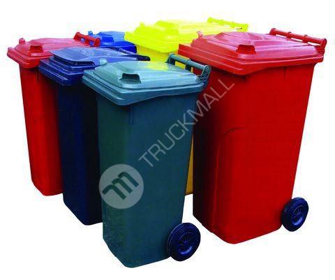 Sběrná plastová nádoba 120l