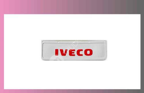 zástěra kola IVECO- 600x180-pár-přední-bílá-červené písmo