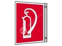 Tabulka praporková - Hasicí přístroj 30 x 30 cm