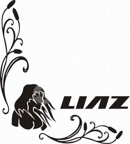 samolepka LIAZ 626